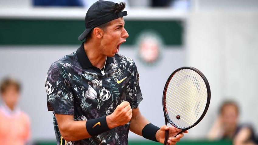Alexei Popyrin reacts to breaking into top-100 for first time