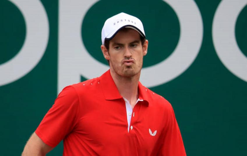 Andy Murray. 'Feliciano Lopez has ridiculous serve'