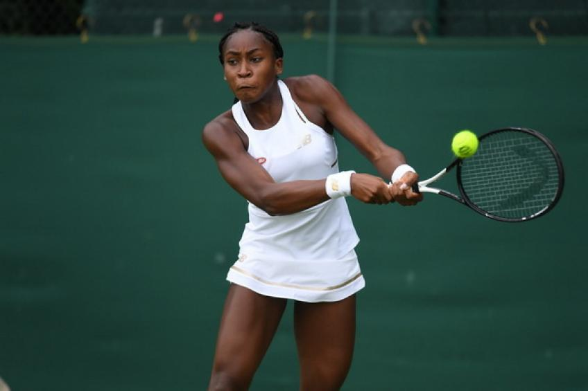15-year-old Cori Gauff writes history as the youngest player with..