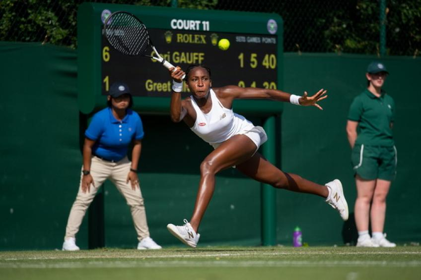 Cori Gauff roars into the main draw at Wimbledon for another huge record