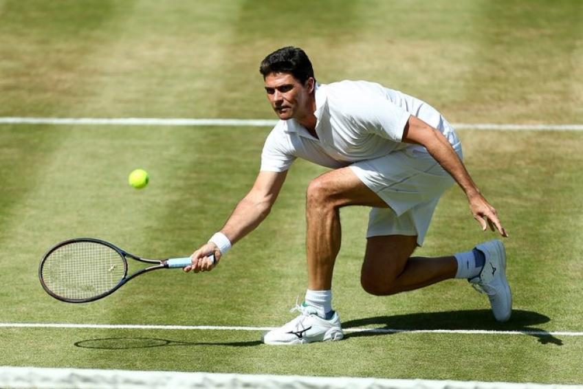 The Boodles: Mark Philippoussis beats Thomas Enqvist in legends match