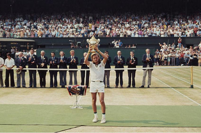 ThrowbackTimes Wimbledon: Bjorn Borg wins first title in perfect style