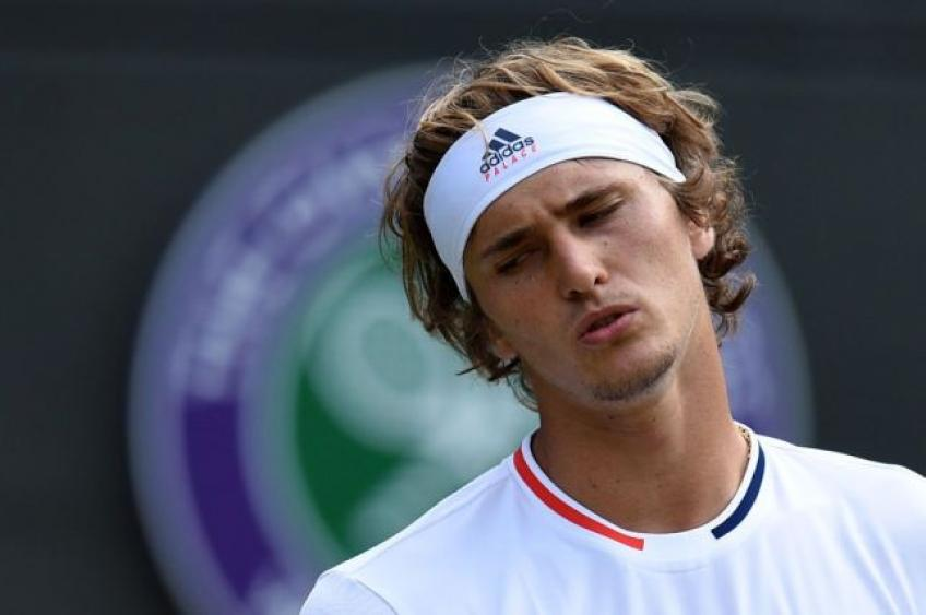 Alexander Zverev reacts to shock Wimbledon exit & more Grand Slam struggle