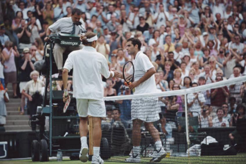 On this day: Roger Federer wins battle of Wimbledon kings against Pete Sampras