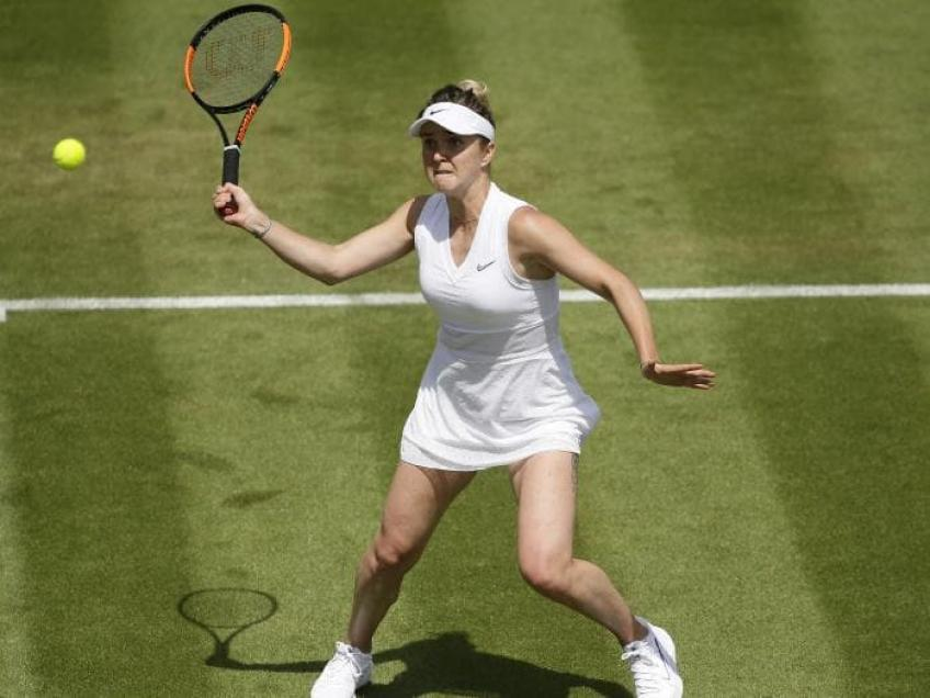 Svitolina won at Wimbledon a Russian woman and made her cry