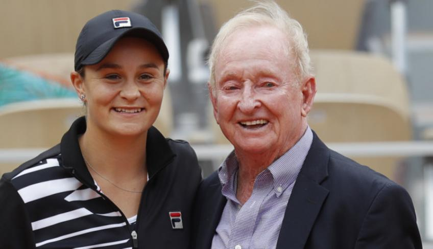 """Rod Laver dubs Ashleigh Barty """"the favourite in every sense"""""""