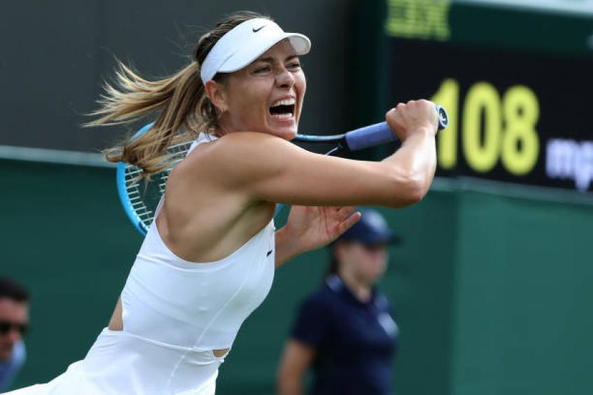 Maria Sharapova: I rarely withdraw in the middle of the match