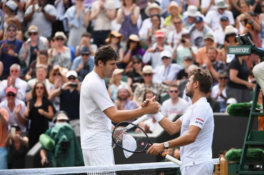 ATP Wimbledon: Opelka edges Wawrinka. Raonic, Medvedev and Goffin advance