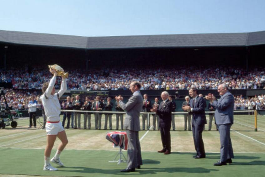 ThrowbackTimes Wimbledon: John McEnroe storms over Chris Lewis to conquer title