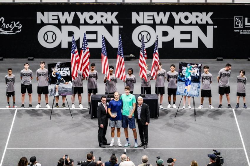 Reilly Opelka to defend New York title against Kyrgios and Anderson