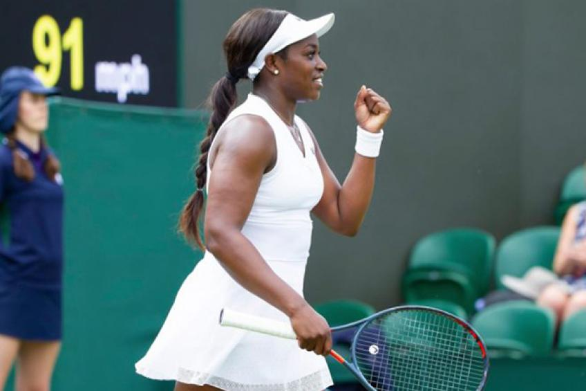 Another happy day for Stephens after cruel victory over Yafan Wang