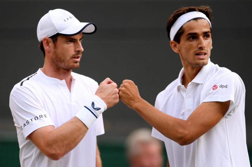 Wimbledon: Andy Murray and Pierre-Hugues Herbert triumphant in team debut