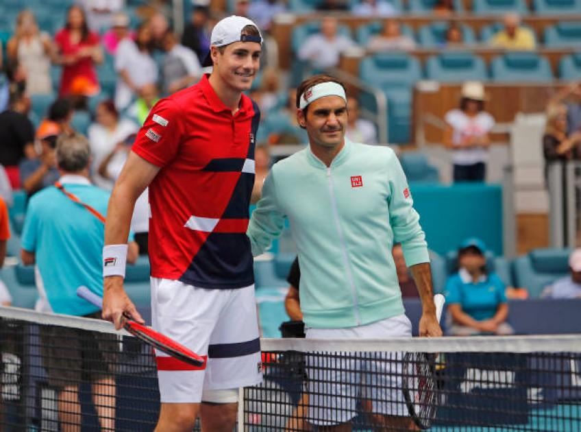 John Isner shares why Roger Federer can't say he is the greatest ever