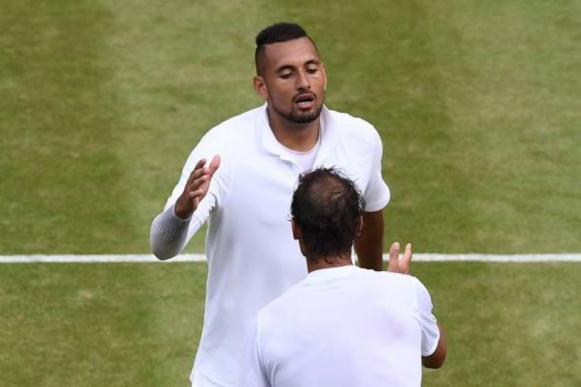 Rafael Nadal's act of pure class that put Nick Kyrgios to shame