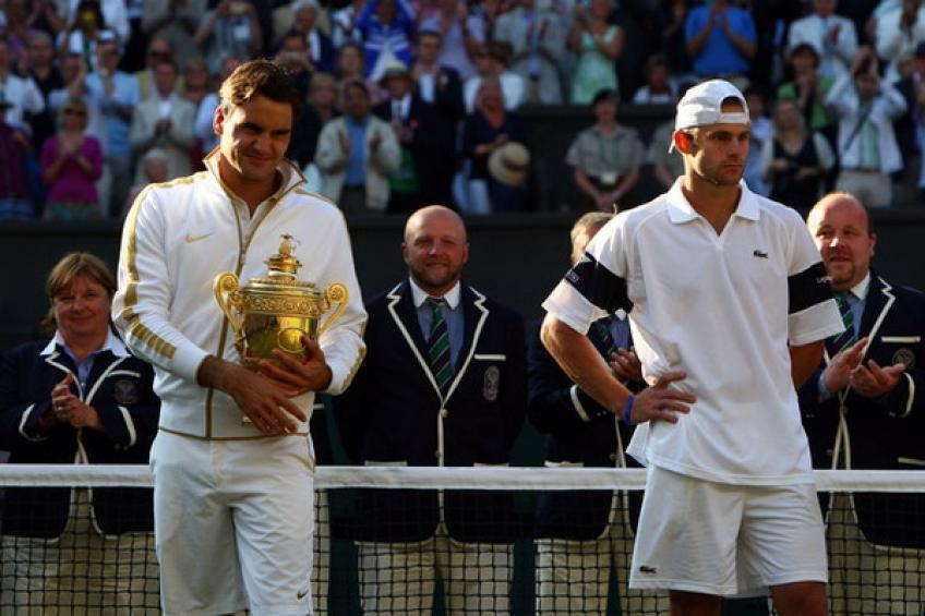 ThrowbackTimes Wimbledon: Roger Federer tops Andy Roddick for ultimate tennis glory