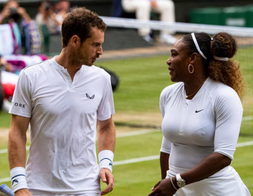 Serena Williams: I had a lot of fun with Andy Murray