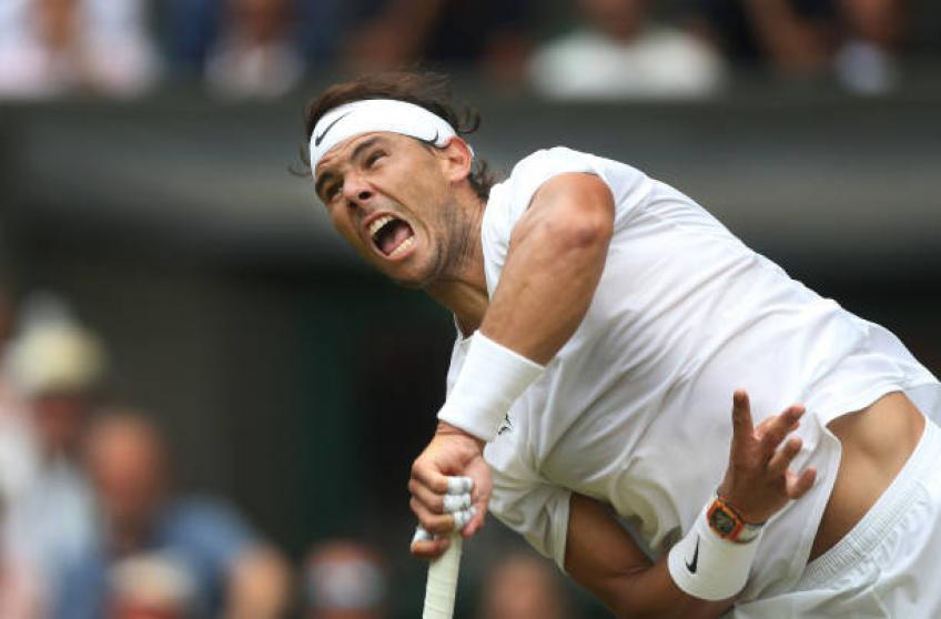 Rafael Nadal shares why Wimbledon court speed is lower