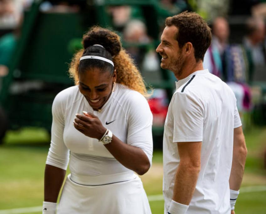Andy Murray confident of getting match rhythm with Serena Williams
