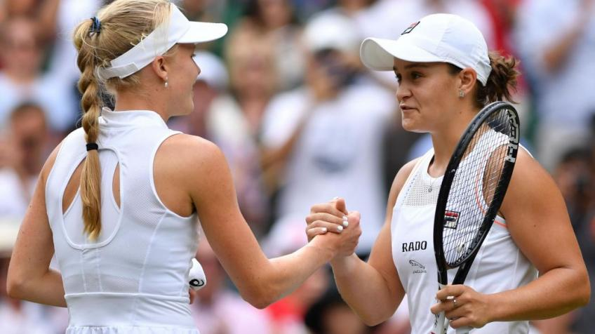 What Ashleigh Barty told Harriet Dart about her future