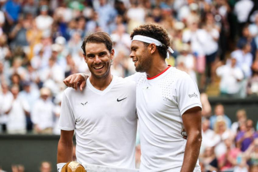 Tsonga: 'Nadal, Federer, Djokovic are the best ever'