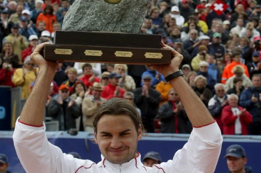 On this day: Roger Federer wins the first title on home soil in Gstaad