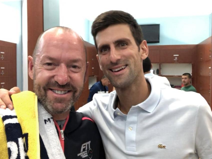 Alison Riske shares her cooperation with Novak Djokovic's strategy analyst