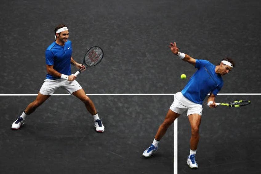 I see Rafael Nadal capable of beating Roger Federer, says uncle Toni
