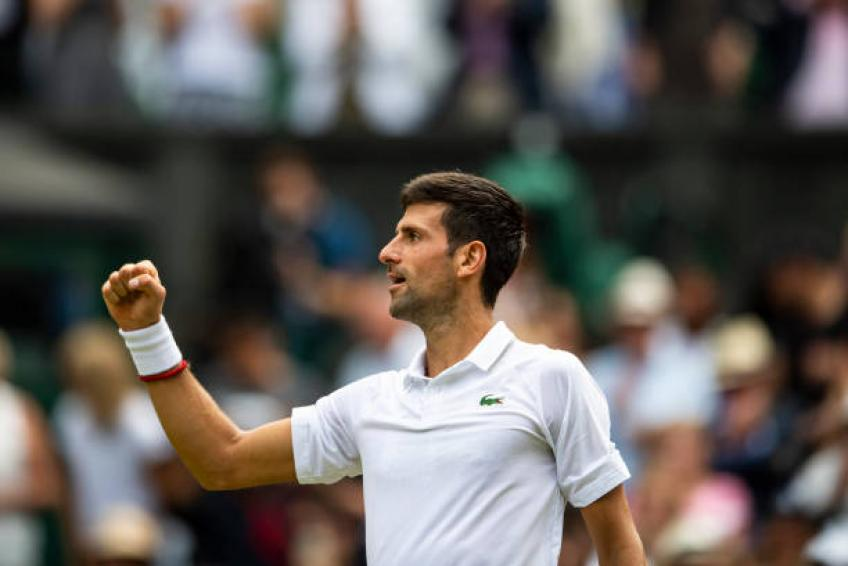 Novak Djokovic shares what he can improve on grass