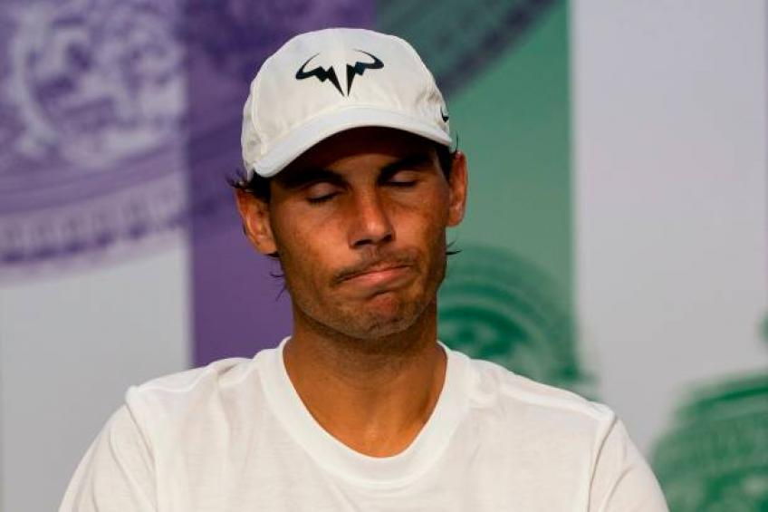 Rafael Nadal: 'Roger Federer played a bit better than me. No excuses'