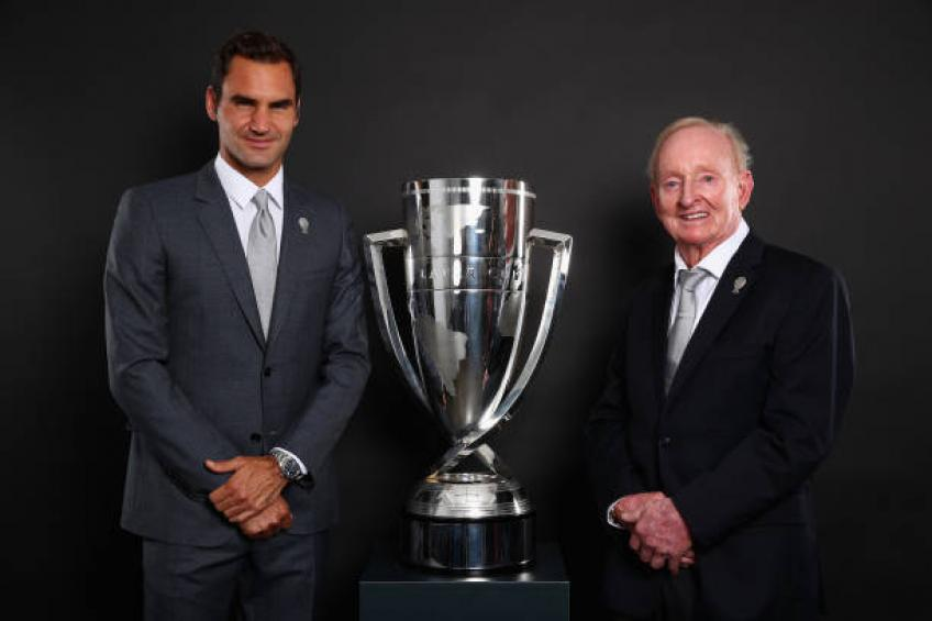 Rod Laver: Roger Federer is a perfect gentleman. I am in awe of him