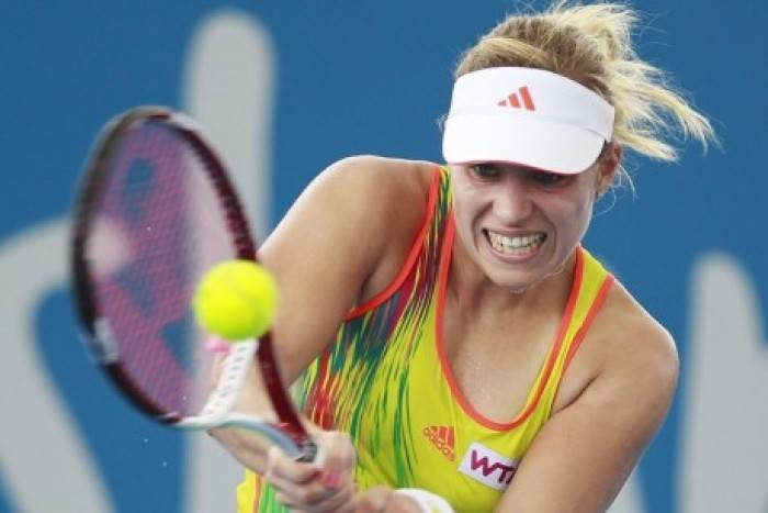 WTA Brisbane - Kerber and Errani continue surge with first round wins