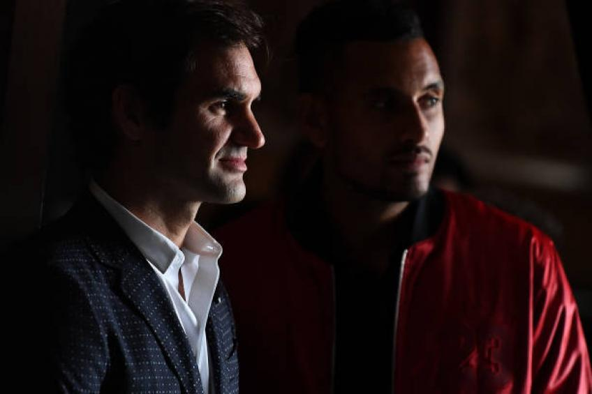 Tennis needs both Roger Federer and Nick Kyrgios, says Courier
