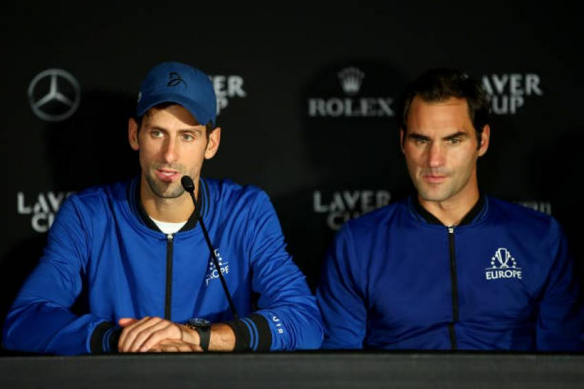 Novak Djokovic: 'Like Roger Federer said, age is just a number'