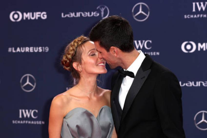 Novak Djokovic: 'I was blessed to become a father. My life has changed'