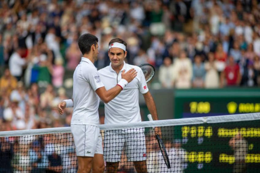 Roger Federer and Djokovic are like Hamilton and Bottas, says Hanniken