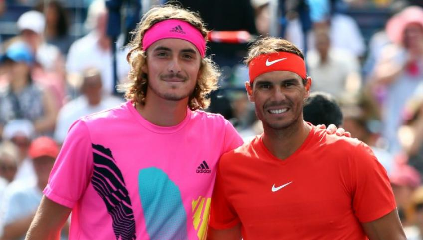 Tsitsipas: 'You have to beat two players when you face Rafael Nadal'