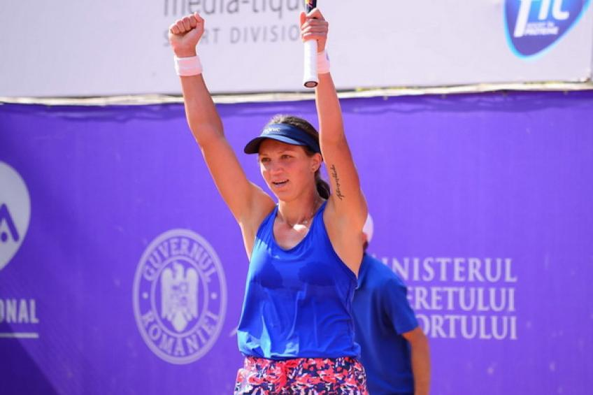 WTA Bucharest: Rybakina, Tig, Di Giuseppe and Siegemund reach semis