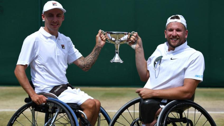 Andy Lapthorne Says He Wants to Improve his Record in Singles
