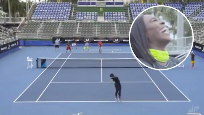 Serena Williams Shows Men Who is the Boss