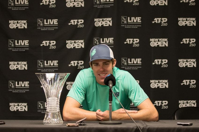 Reilly Opelka speaks on John Isner's dominance at Atlanta Open