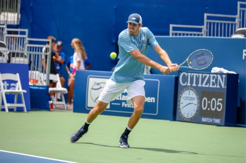ATP Atlanta: Opelka tops Bublik. Jack Sock and Grigor Dimitrov bow out