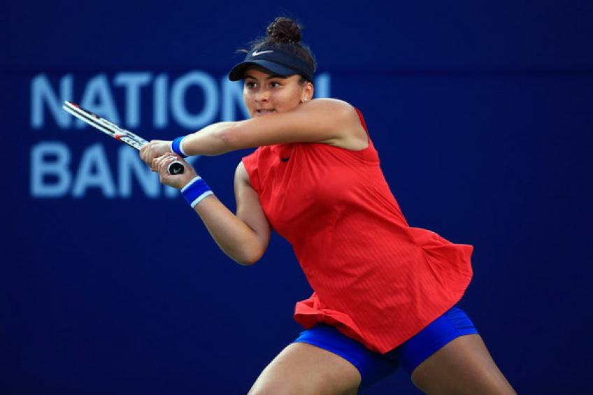 Bianca Andreescu withdraws from Washington with ongoing shoulder injury