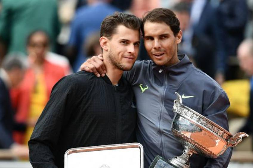 Dominic Thiem is the best player on clay after Rafael Nadal, says Rublev