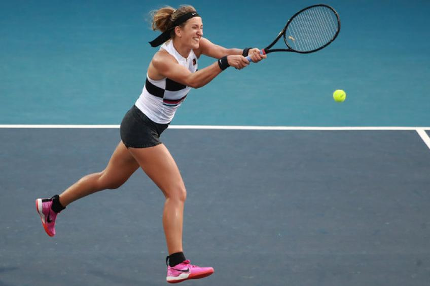 WTA San Jose: Victoria Azarenka and Donna Vekic win. Venus bows out