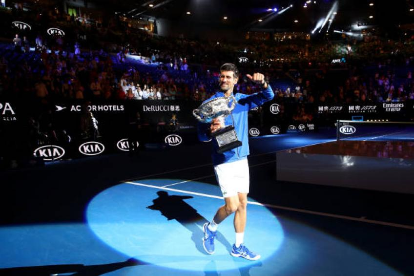 Nobody can beat Novak Djokovic when he is focused and plays well - Coach