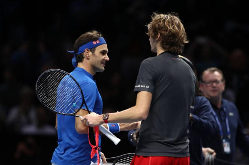 Roger Federer will have crowd on his side until retirement, says Zverev