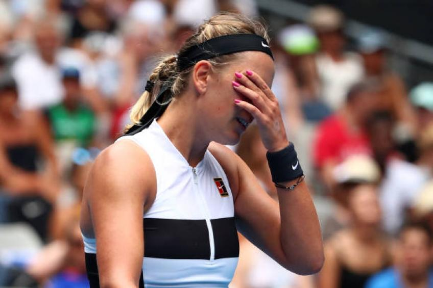 Victoria Azarenka: 'I do not want my son Leo to watch matches live'