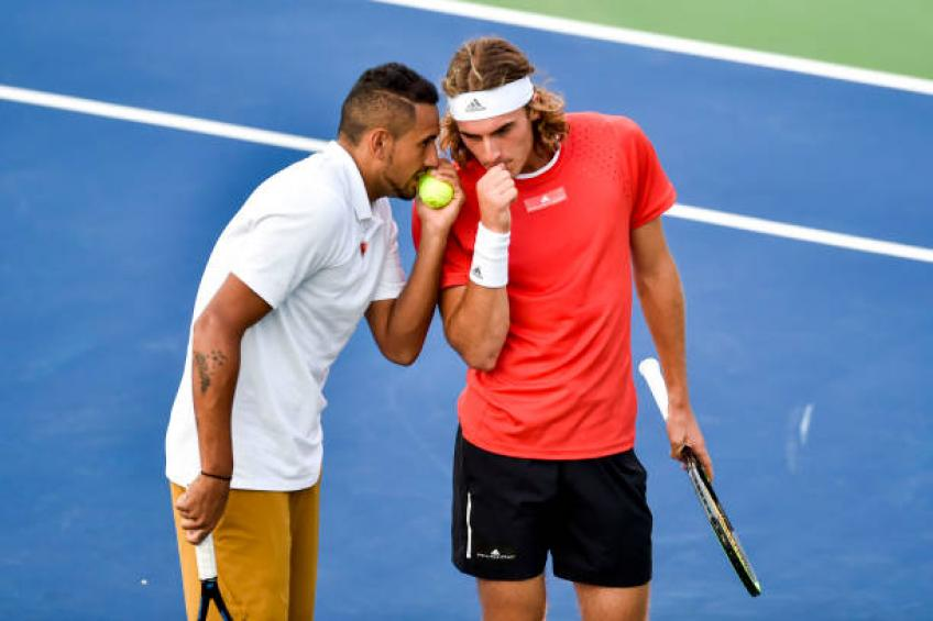 'Shoe-gate' continues for Tsitsipas in Washington