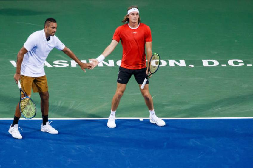 Stefanos Tsitsipas speaks about his relationship with Nick Kyrgios