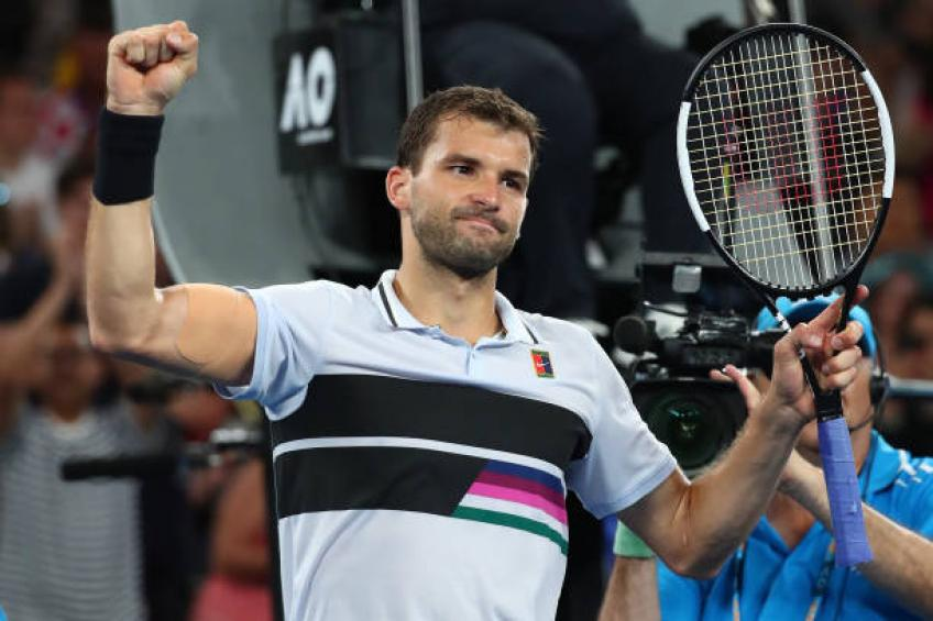 Grigor Dimitrov impressed by Steffi Graf in training sessions